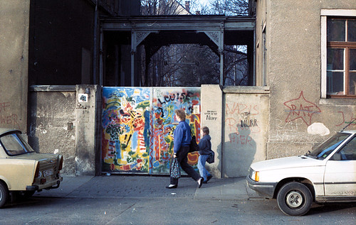 So sah das Haus Anfang der 90er aus.