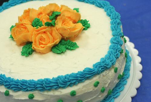 Wilton Course 1 Finale Cake