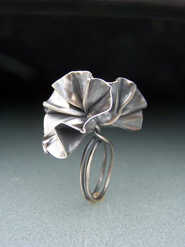 Sterling Silver Foldformed Ring II