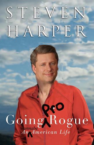 Sarah Palin/Stephen Harper mashup, courtesy Wayne MacPhail