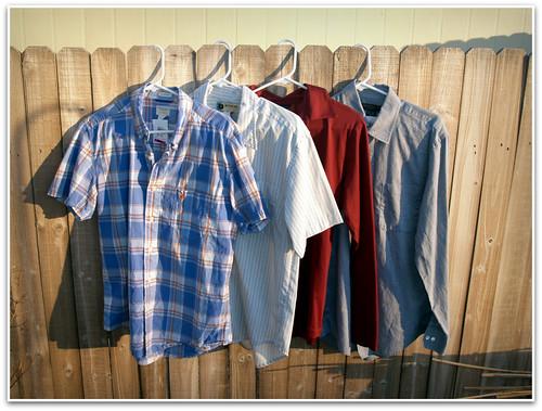 savers: four shirts for hubs