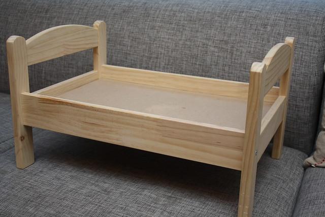 Ikea dukkeseng- Før bildet