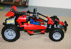 2010 LEGO Technic 8048 Buggy - Finished (Mostly Bricks) Tags: lego technic buggy 2010 8048