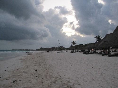 A Storm Approaches Tulum