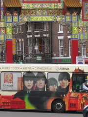 Untitled (Thomas Nicolaou) Tags: bus liverpool chinatown thebeatles europeancapitalofculture2008 mobformat11decisivemoment mobformat11worldscollide mobformat11crowd