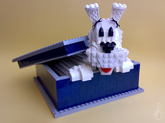 Milouuu, where are youuu? #01 (marcosbessa) Tags: dog lego snowy cartoon tintin milou moc foitsop comunidade0937 marcosbessa