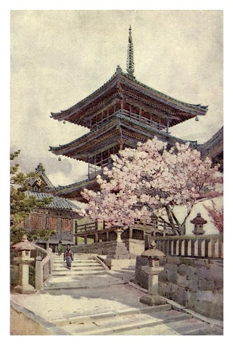 015- La pagoda Kyomidzu-The flowers and gardens of Japan (1908)-  Ella Du Cane
