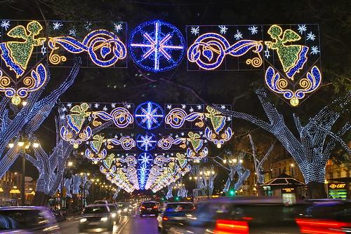 Iluminación Navidad Málaga 2009