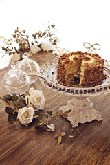 Ateli de Doces Bianca Pozzi (AnnuskA  - AnnA Theodora) Tags: light roses food white glass cake delicious sweets pecan londrina atelier
