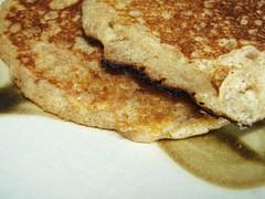 whole wheat pancakes - 12