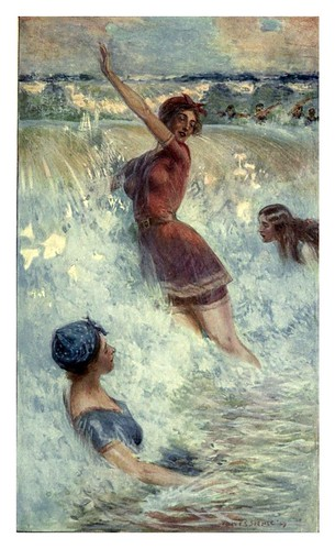 017-Diversion en las olas-Australia (1910)-Percy F. Spence