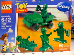 Lego Pixar Toy Story Plastic Army Men (Chris Devers) Tags: race racecar truck movie buzz ma toy soldier army toys store funny lego jeep toystory buzzlightyear massachusetts cartoon woody disney king