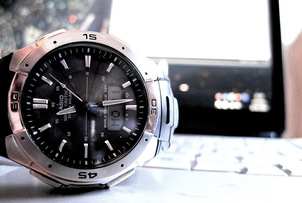 Casio WVA-470E Watch