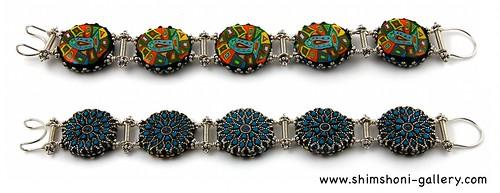 Blue Fish Bracelet