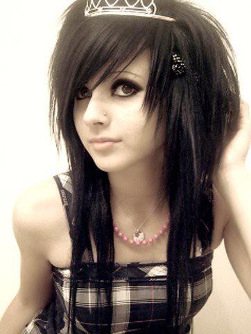 fotos cabelos emo