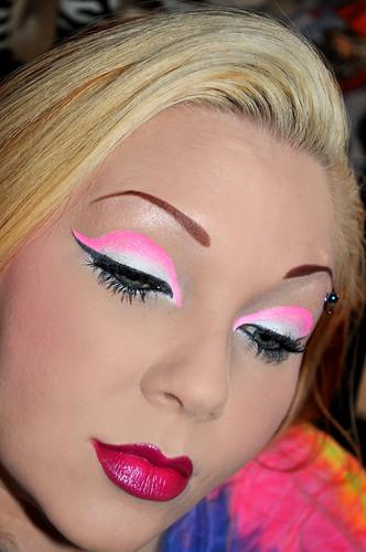 Super Neon Pink FOTD