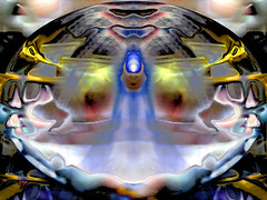 Dome of the Mystic Flame (Fractal Artist) Tags: photoshop altered flame mystic hypothetical awardtree mysticflame