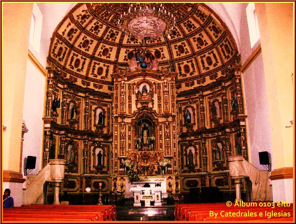 Interior del Ex Convento de Santo Domingo.
