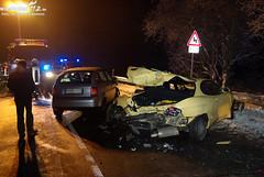 Verkehrsunfall B54 Eiserne Hand 16.01.10