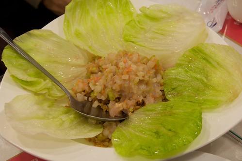 淞園飯館 生菜蝦鬆