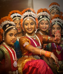 Radha Gopika (Bindaas Madhavi) Tags: street art children dance performing kuchipudi southindian bindaas krishlikesit dancestyle madhavikuram