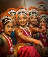 Radha Gopika (Bindaas Madhavi) Tags: street art children dance performing kuchipudi southindian bindaas krishlikesit dancestyle madhavikuram