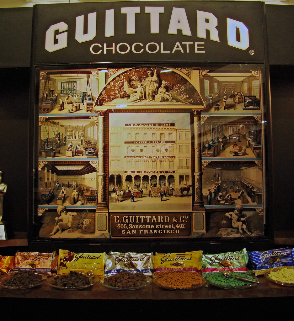Guittard Chocolate display
