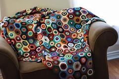 (gesikah) Tags: sport shine crochet hexagon granny knitpicks