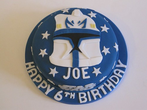 Star Wars Clone Trooper Cake