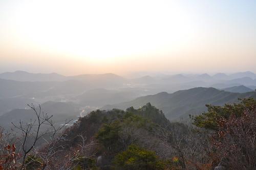 Atardecer en Daegu