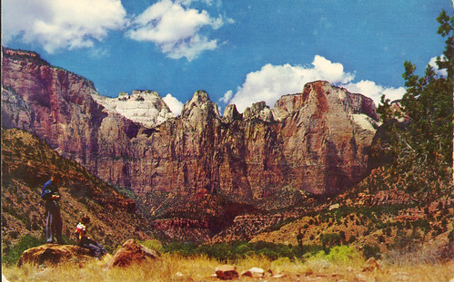 Towers of the Virgin, Zion NP