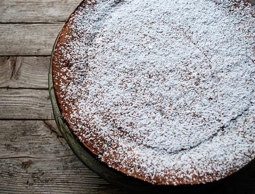 Chocolate Amaretti Cake CU