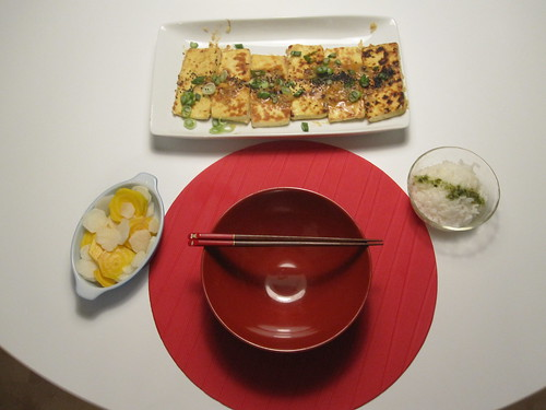A nice family-style japanese meal