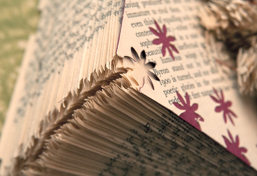 Altered Book: Garden of Delights