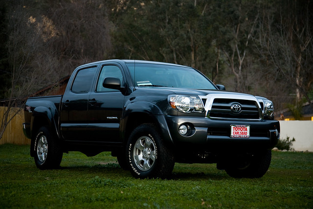 truck 4x4 pickup toyota tacoma 2010 hilux doublecab trdoffroad