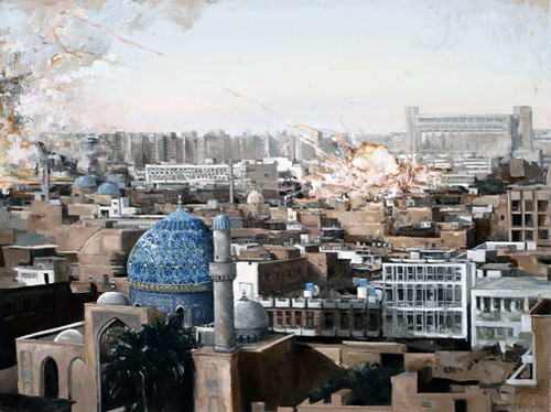 Jessica Benjamin, In the Green Zone, Baghdad