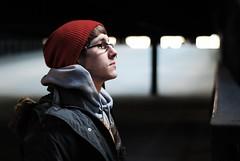 Josh Thivierge 4/52 (Bill Frederick) Tags: light portrait nikon pennsylvania parking josh deck edge straight nikkor bethlehem d60 thivierge