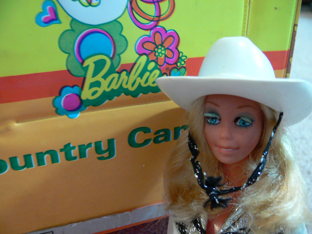 Western Barbie by LauraMoncur from Flickr