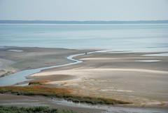 Delta Cyclist (Bart van Damme) Tags: sea reflection industry beach bicycle rotterdam sand cyclist dunes thenetherlands delta bluesky badge streams maasvlakte slufter bartvandammephotography bartvandammefotografie emailbagtvandammegmailcom
