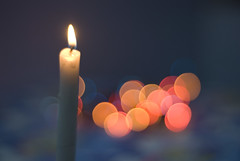 Lets light up some bokeh! (Amar Jain) Tags: candle bokeh awesome bokehlicious