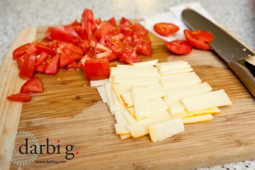 fresh veggie risotto basil buter salmon-2