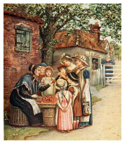 013-La mujer de las cerezas-Kate Greenaway 1905- Marion Spielmann y George Layard