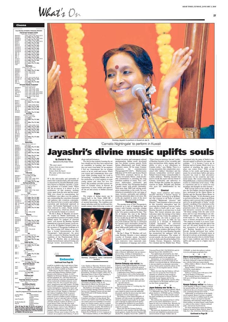 Kwt - ArabTimes 2009-01-03