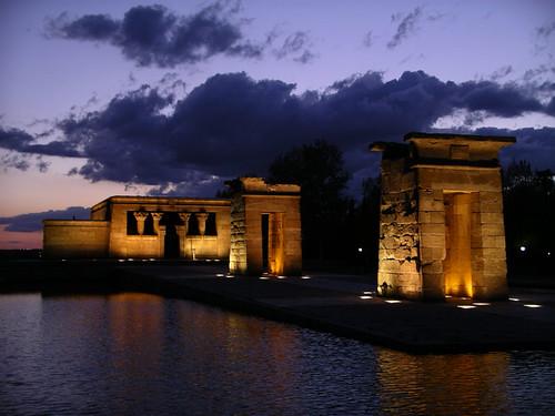 El templo de Debod Madrid
