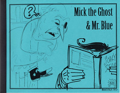 826 Valencia: Mick the Ghost and Mr. Blue cover