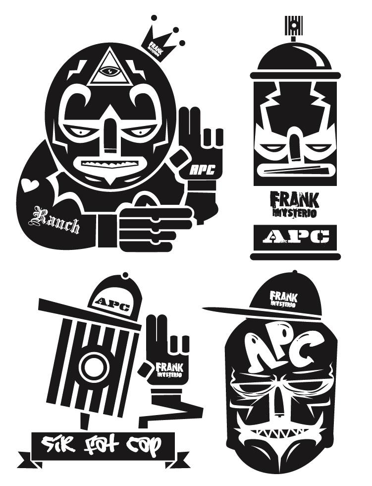 serie 3 sticker