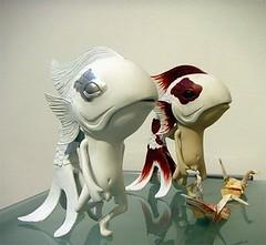 White Koibito Vinyl Figure