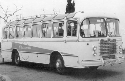 Autocar NAZAR de l'empresa ATLAS EXPRESO SA de Barcelona