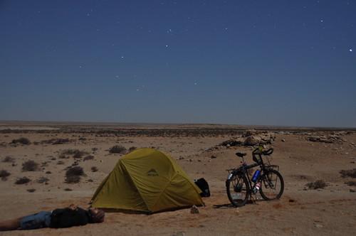 Saharan star-gazing