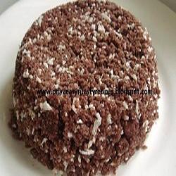 Priya's Ragi Sweet Puttu